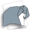 схема оригами слон