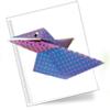 Оригами схема Ворона