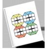 Оригамная схема сборки мозаики