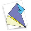 Схема оригами - улитка